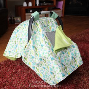DIY Car Seat Canopy Cover