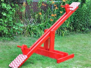 DIY Kid's Seesaw For Under $30