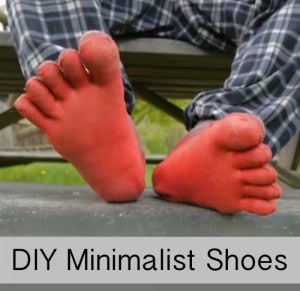 DIY Minimalist Running & Climbing Shoes