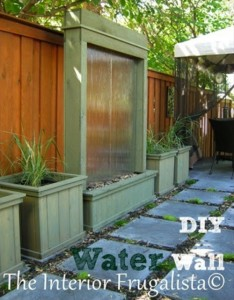 DIY Patio Water Feature