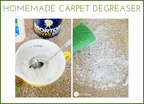 Homemade Carpet Degreaser