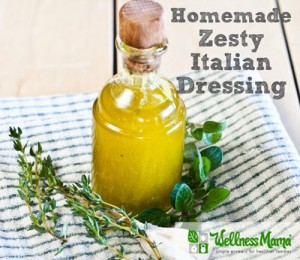 Homemade Zesty Italian Dressing