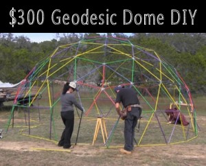 How To Build A Geodesic Dome For $300