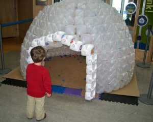 How To Build A Milk Jug Igloo