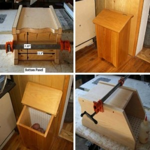 How To Build A Vegetable Storage Bin