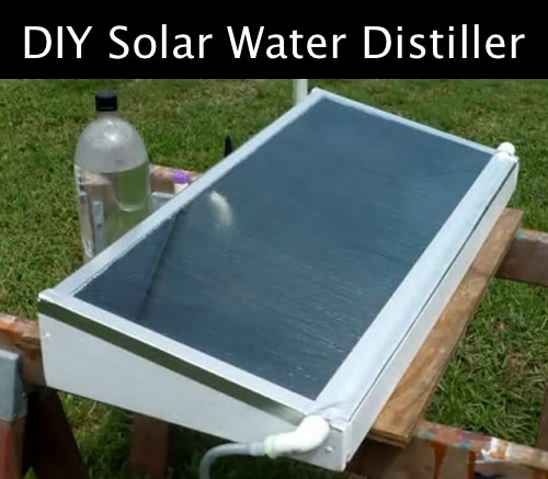 How To Build A Solar Water Distiller