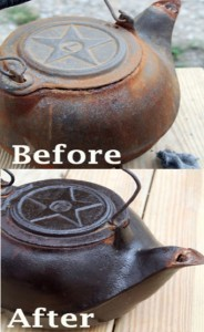 How To Clean & Refurbish Cast Iron