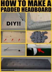 How To Make A Padded Headboard For A Bed