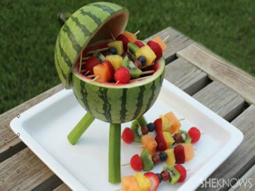 How To Make A Watermelon BBQ