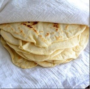 Homemade Flour Tortillas Recipe