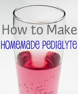 How To Make Homemade Pedialyte