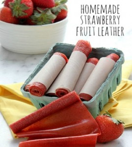 How To Make Homemade Strawberry Fruit Leather