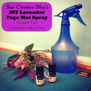How To Make Lavender Spray For Your Yoga Mat (Great For Countertops Too!)