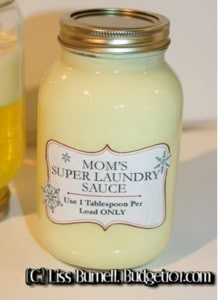 How To Make Super Laundry Soap (Costs Less Than $2 For 18+ Loads!)