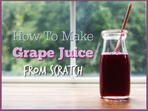 How To Make Your Own Grape Juice From Scratch