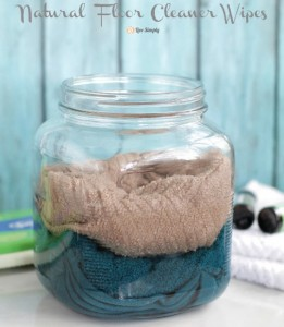 Natural Floor Cleaner Wipes