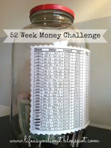 The 52 Week Money Saving Challenge