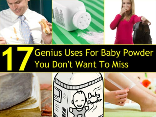 17-Genius-Uses-For-Baby-Powder