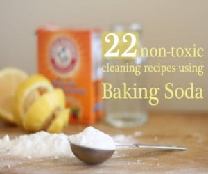 22 Ways To Clean With Baking Soda