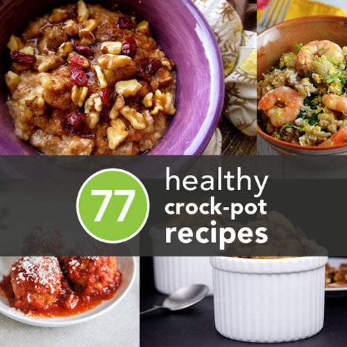 77 Healthy Crock-Pot Recipes