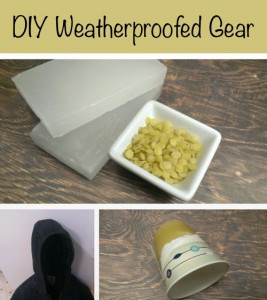 Cheap & Easy Vintage Style Weatherproofed Gear