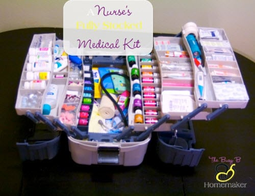 Diy Nurse S Fully Stocked Emergency Medical Kit Homestead