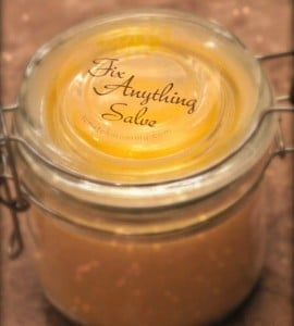 'Fix Pretty Much Anything' Salve – A Healing DIY Salve