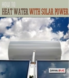 Heating Water With Solar Energy