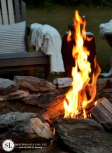Homemade Backyard Fire Starters
