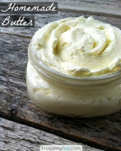 Homemade Butter In The Food Processor