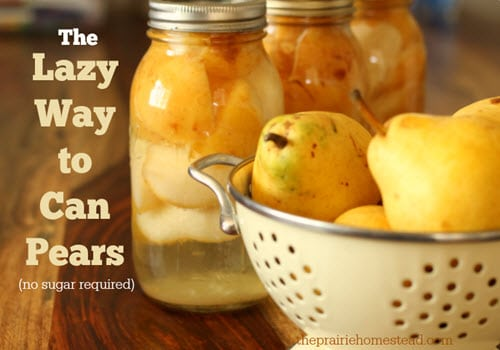 How-To-Can-Pears-Without-Sugar