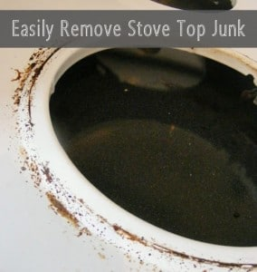 How To Clean Caked-On Gunk From A Stove Top