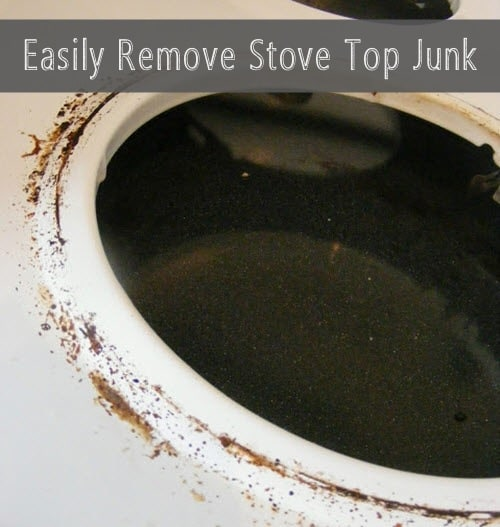 How to clean caked on gunk from a stove top homestead How to clean top of oven
