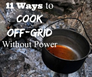 How To Cook Without Electricity