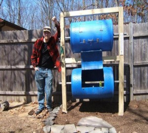 How To Make A Double-Decker Drum Composter