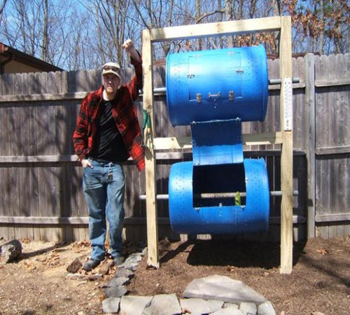 How-To-Make-A-Double-Decker-Drum-Composter
