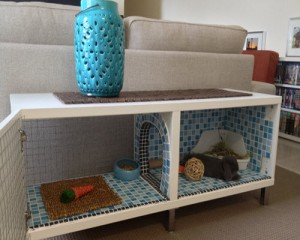 How To Make An Indoor Bunny Hutch