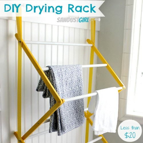 How To Make An Indoor Clothes Drying Rack