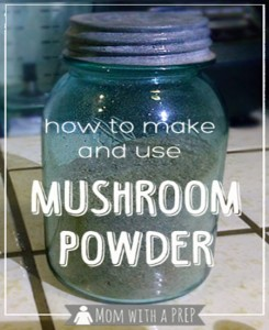 How To Make & Use Mushroom Powder