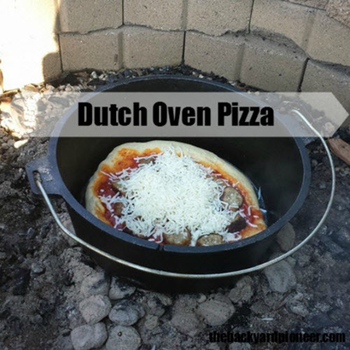 How To Make Dutch Oven Pizza
