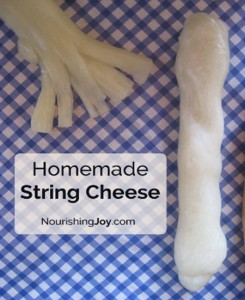 How To Make Homemade String Cheese