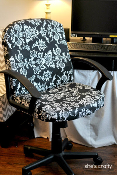 How-To-Reupholster-An-Office-Chair