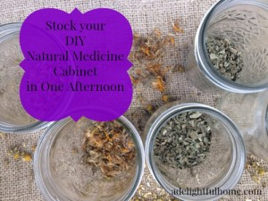 Stock Your DIY Medicine Cabinet In One Afternoon