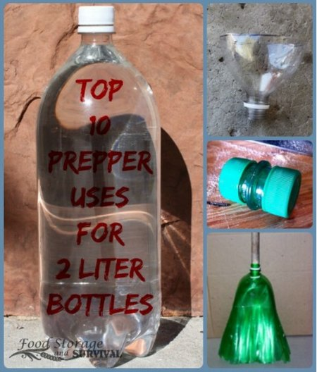 10+ Prepper Uses for 2 Liter Plastic Bottles