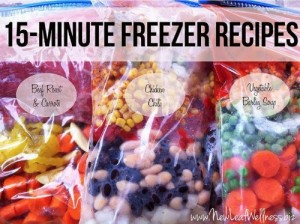15-Minute Freezer Recipes