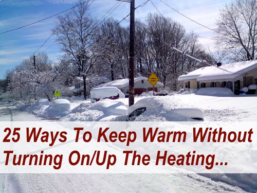 Keeping Warm Without Heating Guide