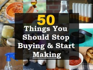 Stop Buying And Start Making These 50 Things