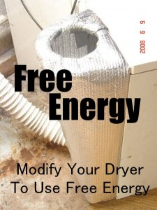 Free Energy DIY Dryer Modification