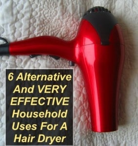 6 Unusual Household Uses For A Hair Dryer