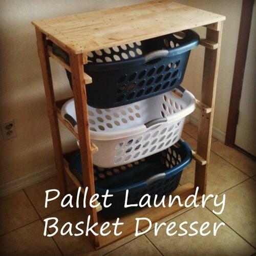 DIY Laundry Basket Organizer
